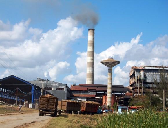 Central 5 de Septiembre, en la provincia de Cienfuegos, Cuba, administrado por  Odebrecht